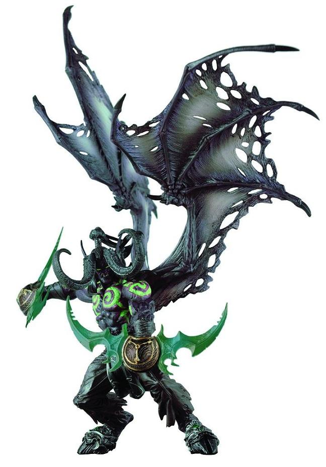 WORLD OF WARCRAFT DLX ILLIDAN (DEMON FORM)