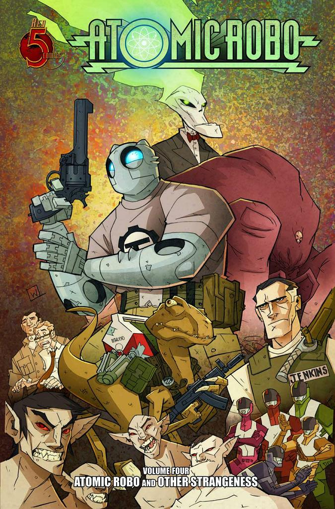 ATOMIC ROBO TP VOL 4 OTHER STRANGENESS
