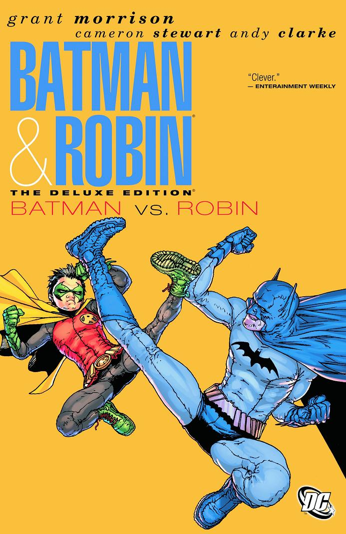 BATMAN AND ROBIN DELUXE HC VOL 2 BATMAN VS ROBIN