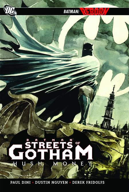 BATMAN STREETS OF GOTHAM HC VOL 1 HUSH MONEY