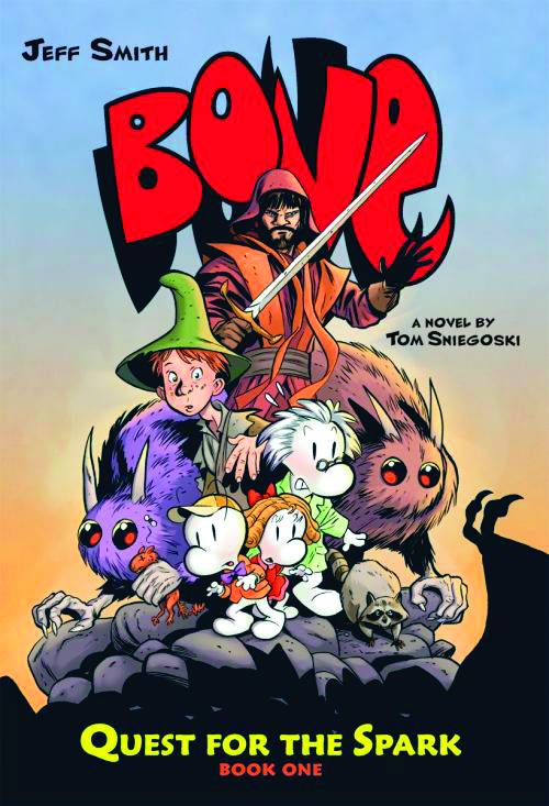 BONE QUEST FOR SPARK HC NOVEL BOOK 01