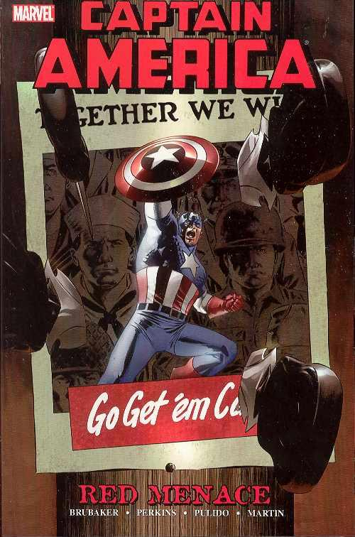 CAPTAIN AMERICA RED MENACE TP VOL 1