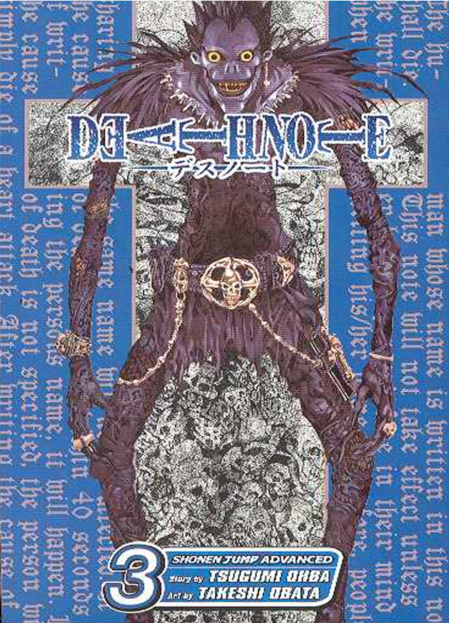 DEATH NOTE TP VOL 3