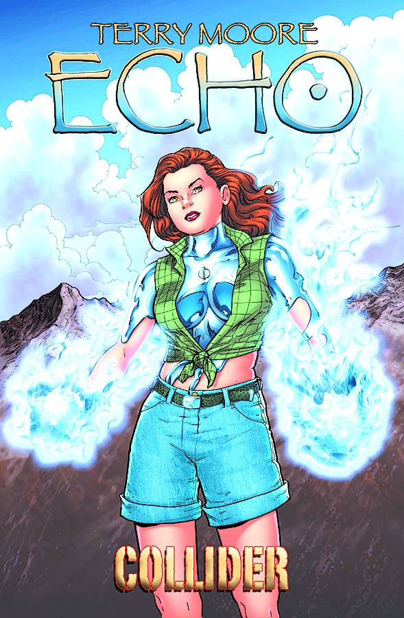 TERRY MOORES ECHO TP VOL 4 COLLIDER