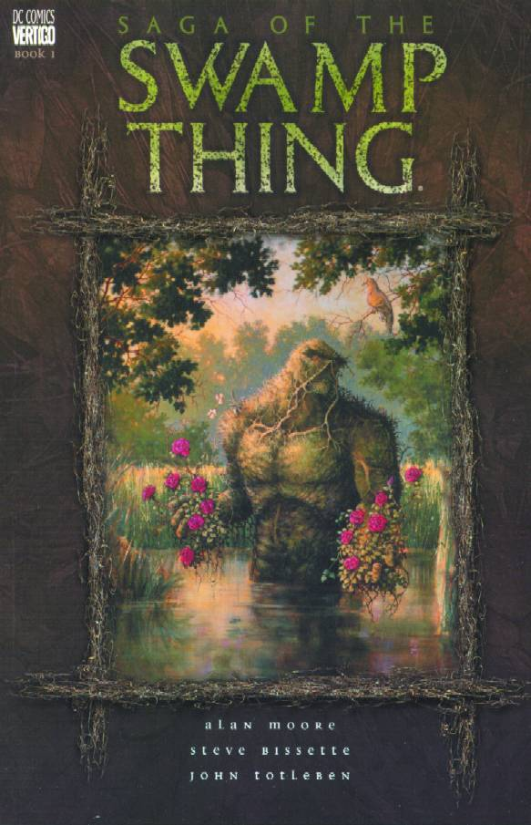 SWAMP THING TP VOL 1 SAGA OF THE SWAMP THING