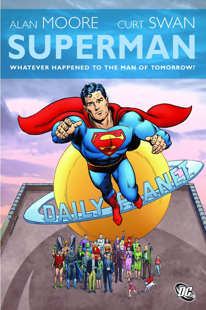 SUPERMAN WHATEVER HAPPENED TO MAN OF TOMORROW HC